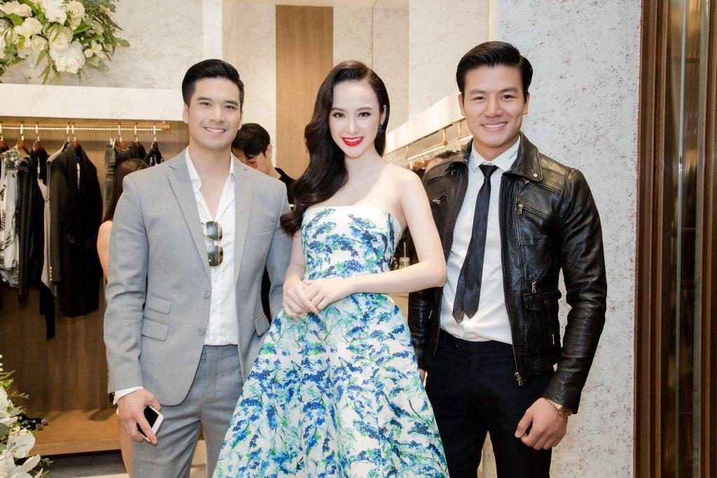 Sao Việt tưng bừng mừng doanh nhân Thủy Tiên ra mắt cửa hàng mới - 09