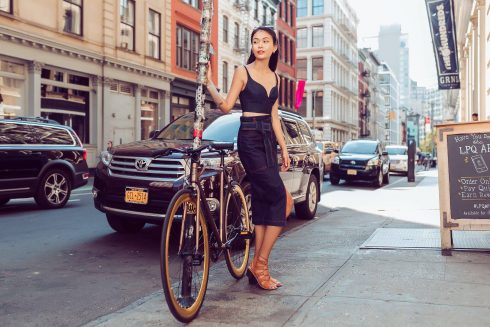 Năm vừa rồi, Mâu Thủy đã ở lại New York 4 tháng để tìm cơ hội lập nghiệp.