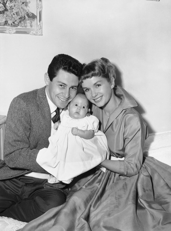 Hai mẹ con Debbie Reynolds và Carrie Fisher - 01
