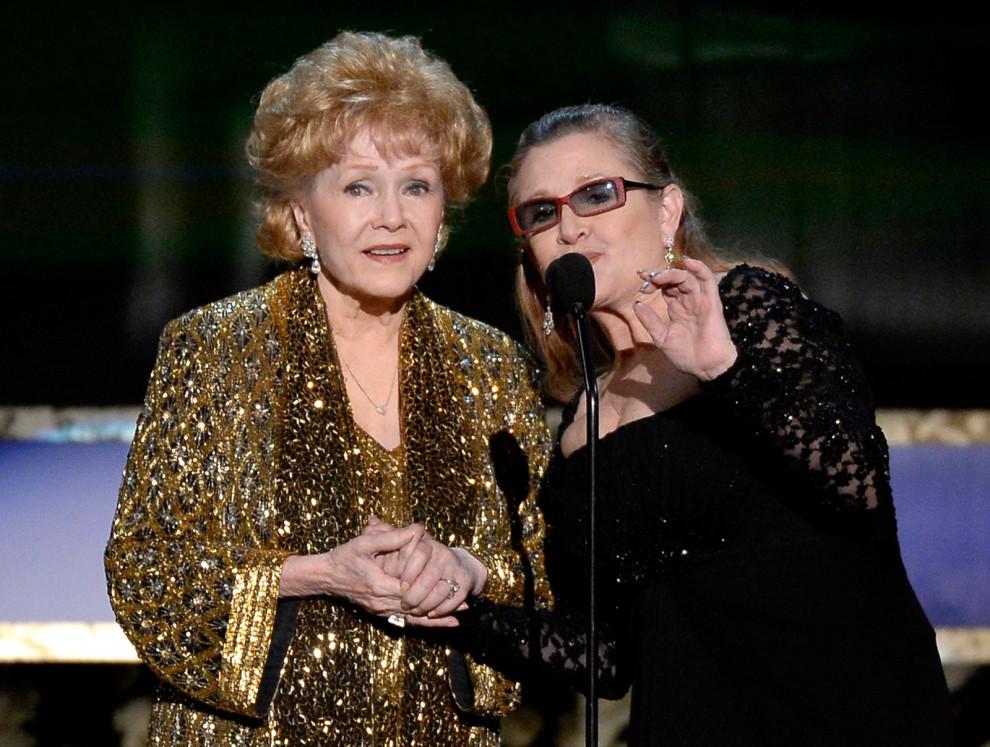 Hai mẹ con Debbie Reynolds và Carrie Fisher - 07