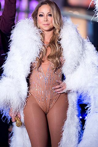 Mariah Carey, tiêu điểm âm nhạc mở màn năm 2017