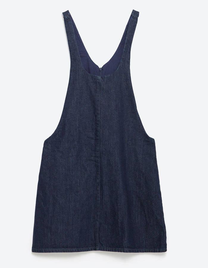 váy yếm Zara - elle vietnam