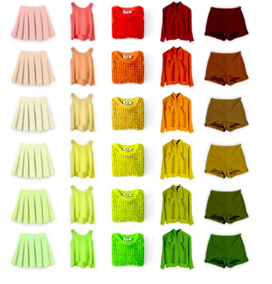 Cách phối màu quần áo phù hợp với từng sắc tố da