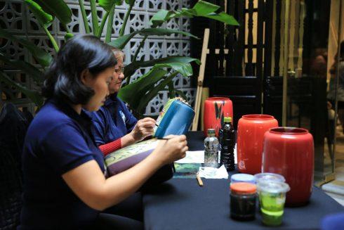 Những cơ duyên gặp gỡ và trao đổi với các nghệ nhân, nghệ sĩ và giới trí thức