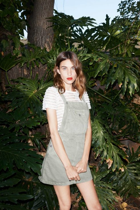 Alexa Chung x AG Gillian Overalls Dress
