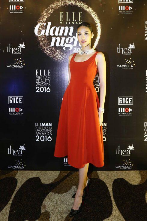 Hoa hậu Áo dài Lan Khuê<br/>ELLE GLAM NIGHT 2017