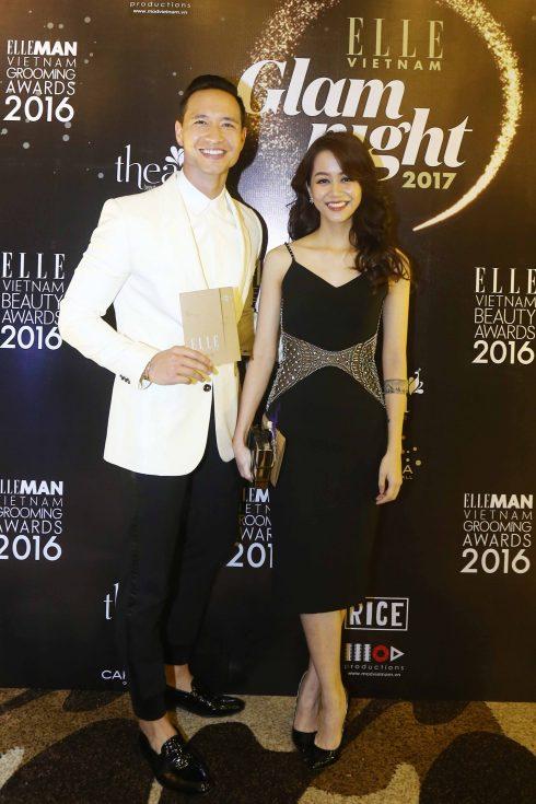Diễn viên Kim Lý và An Nguy