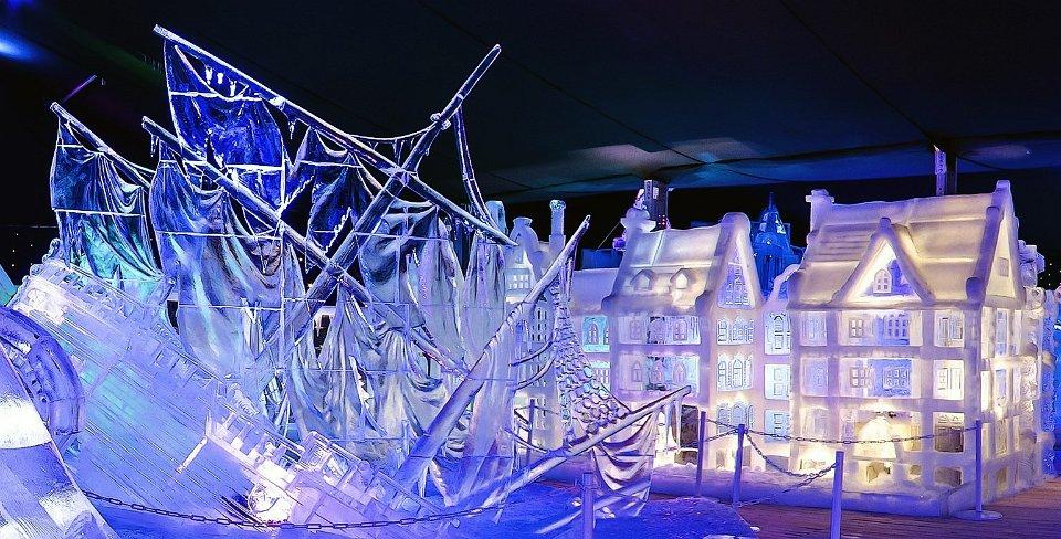 Tết Nguyên đán - lễ hội băng tuyết ở Bruges - elle vietnam
