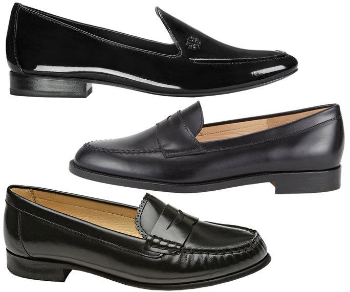 Giày lười nữ cổ điển