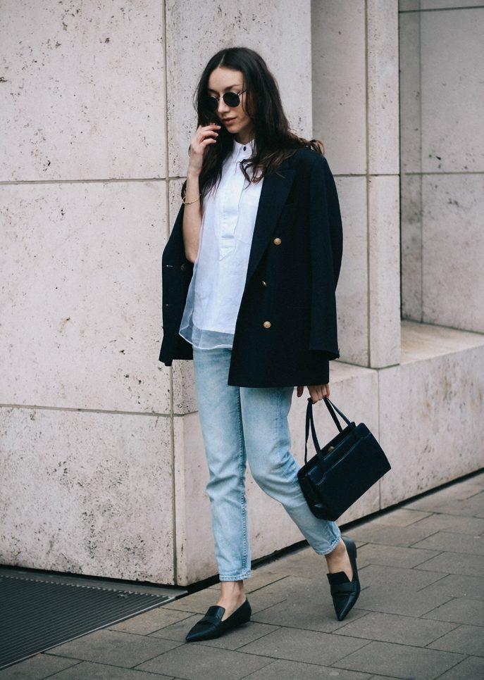 Giày loafer mũi nhọn - ELLE VN