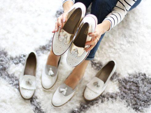 giày lười nữ ellevn