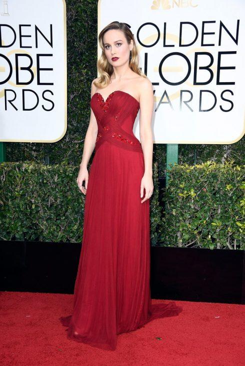 Brie Larson trong thiết kế của Rodarte