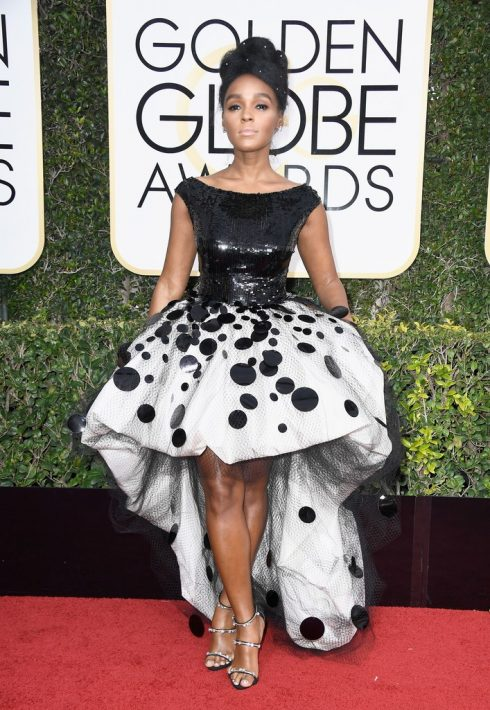Janelle Monae trong thiết kế của Armani