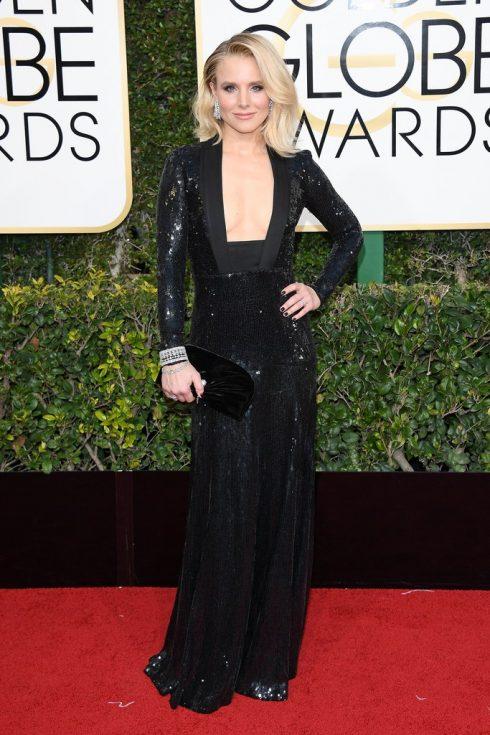 Kristen Bell trong thiết kế của Jenny Packham