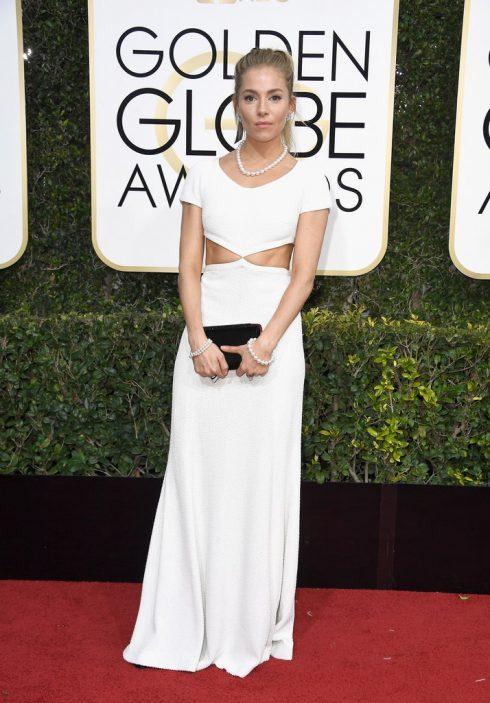 Sienna Miller trong thiết kế của Michael Kors