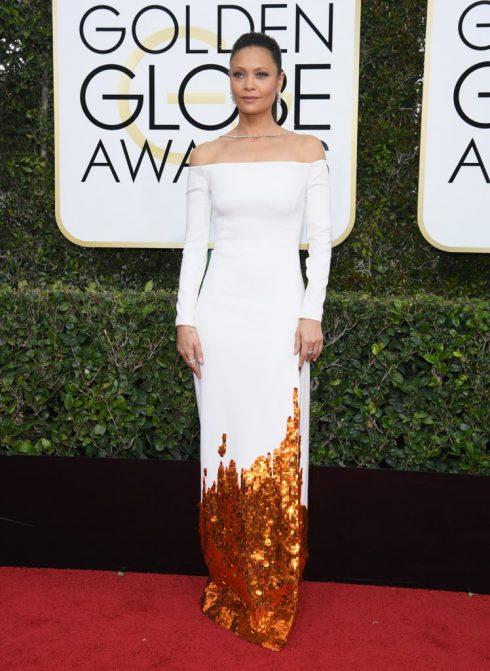 Thandie Newton trong thiết kế của Monse