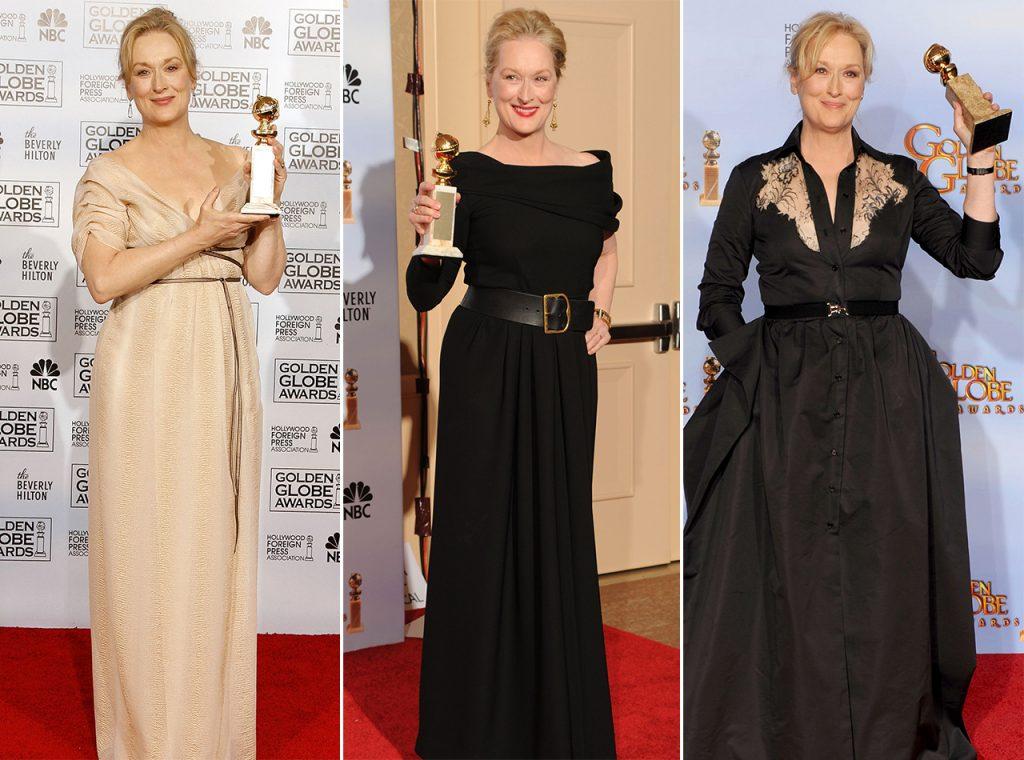 Meryl Streep và những lần có trong tay Quả Cầu Vàng.