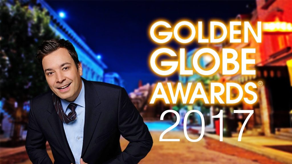 Dẫn chương trình Quả Cầu Vàng 2017.