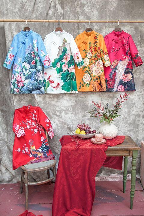 39 cửa hàng thiết kế áo dài cách tân cho dịp Tết
