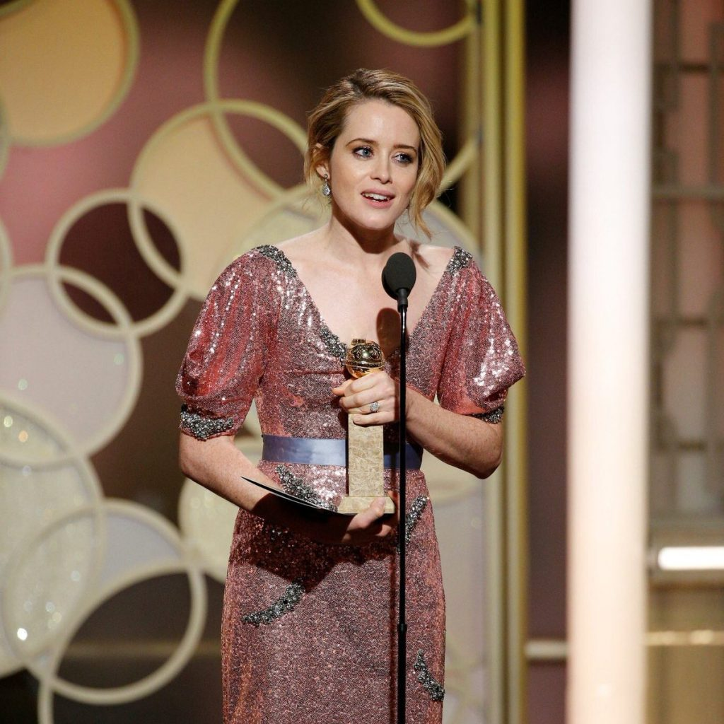 Diễn viên đạt giải Quả Cầu Vàng Claire Foy - 01