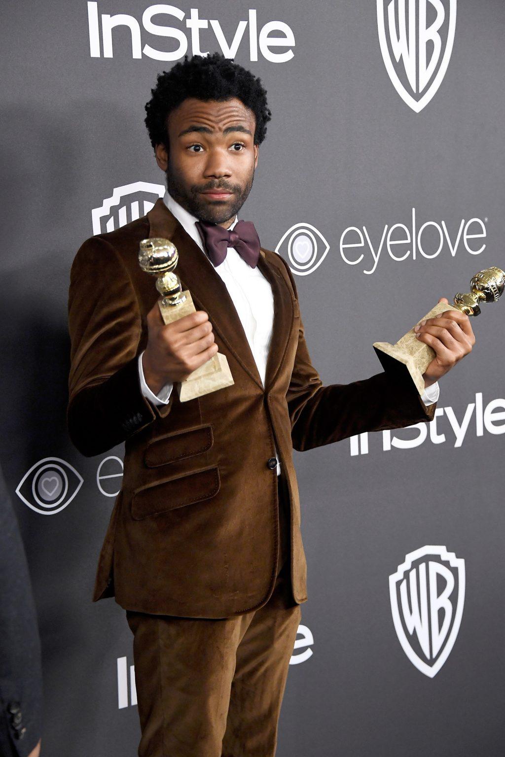 Diễn viên đạt giải Quả Cầu Vàng Donald Glover - 01