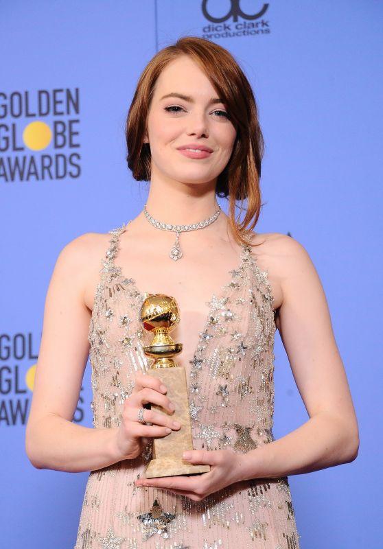 Diễn viên đạt giải Quả Cầu Vàng Emma Stone - 02