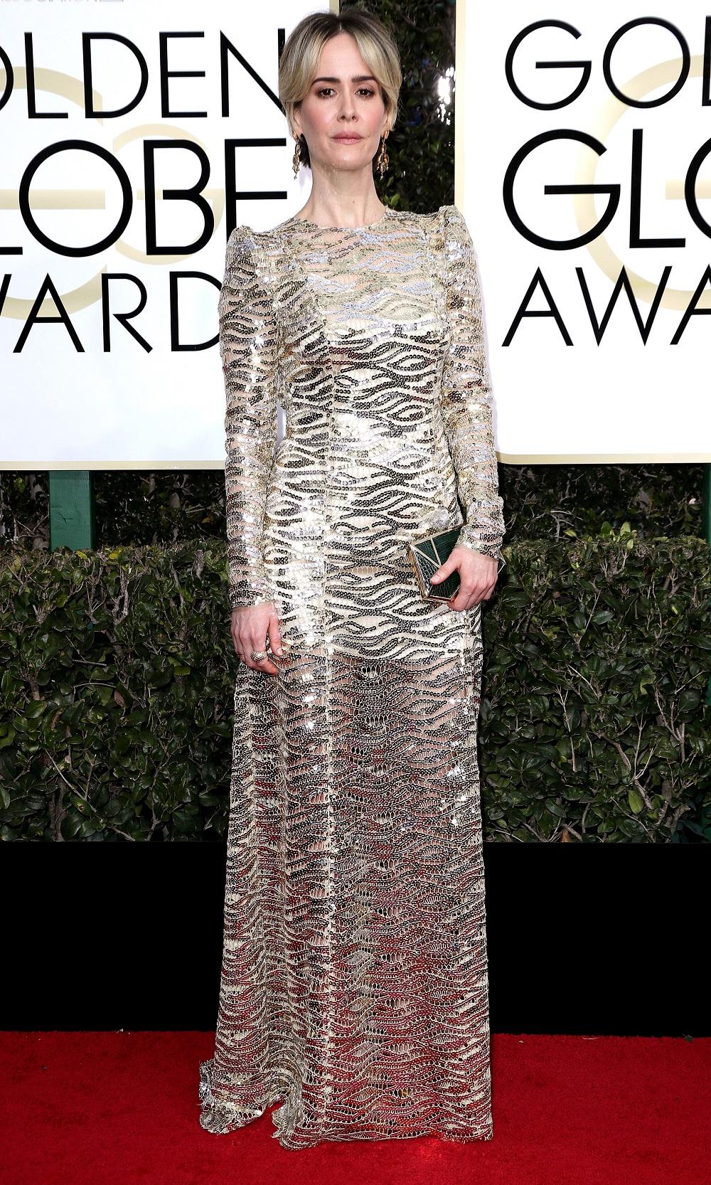 Diễn viên đạt giải Quả Cầu Vàng Sarah Paulson - 01