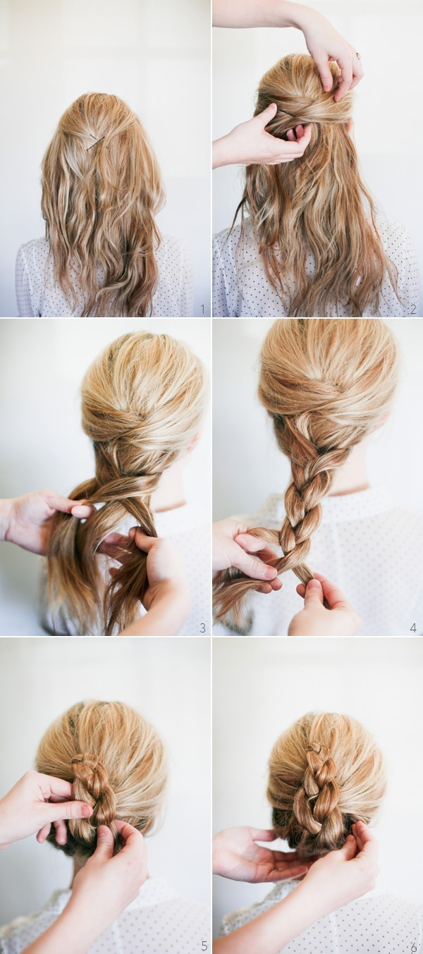 kiểu buộc tóc đẹp 05