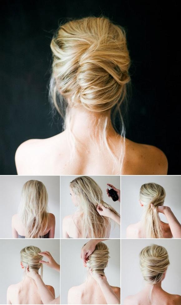 kiểu buộc tóc đẹp 06