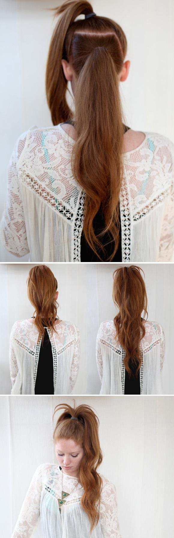 kiểu buộc tóc đẹp 08