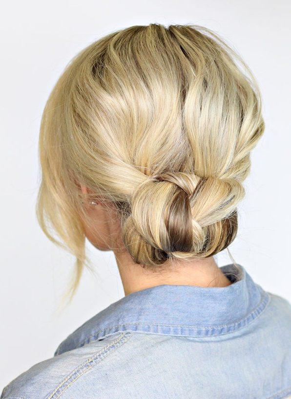 kiểu buộc tóc đẹp 10