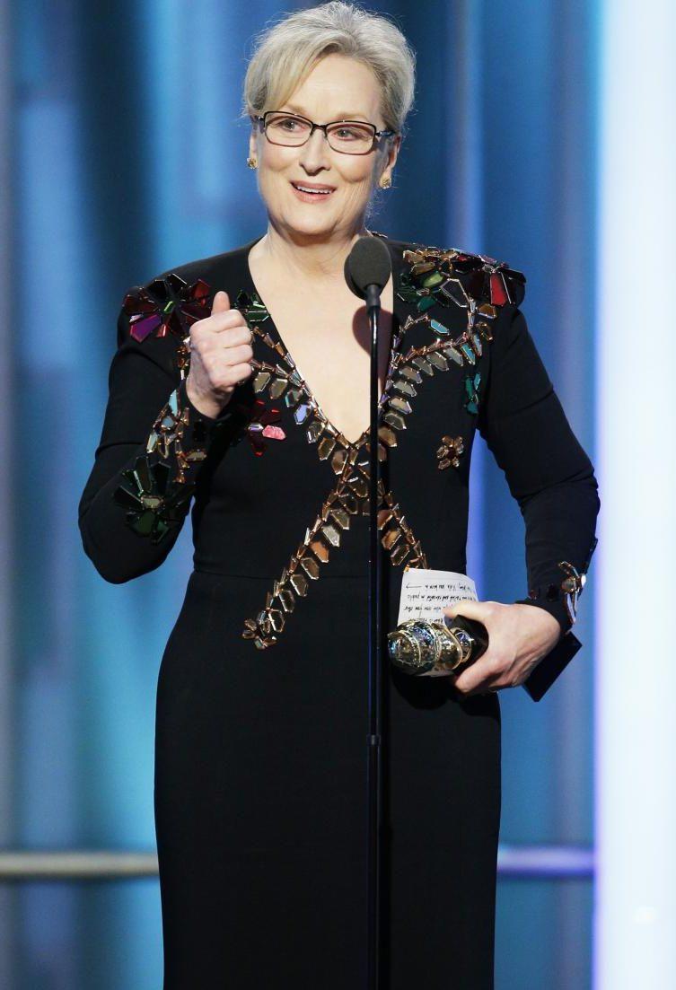 Meryl Streep khéo léo chỉ trích Donald Trump tại Golden Globes
