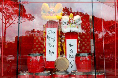 Những phối cảnh độc đáo tại Takashimaya đã sẵn sàng để cùng bạn đón một mùa tết ngập tràn niềm vui!