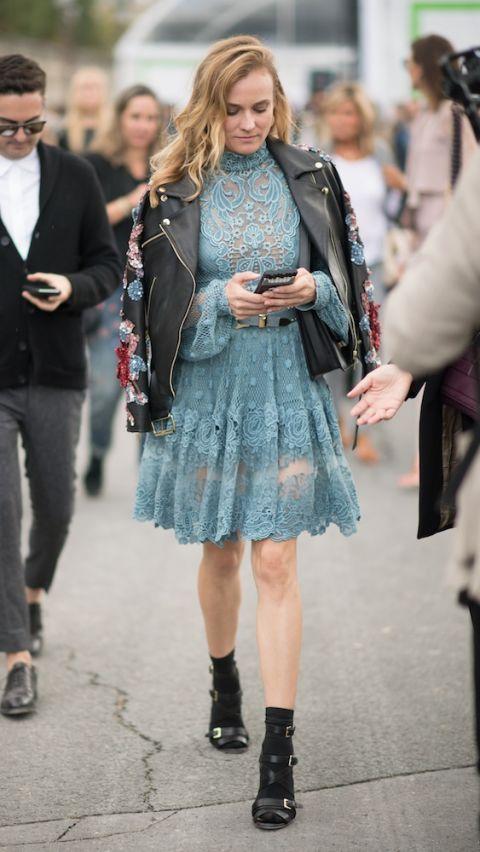 Trong thiết kế của Elie Saab tại Tuần lễ thời trang Paris tháng 10