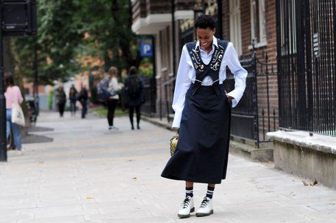 Tại Tuần lễ Thời trang London tháng 9/2016, Donna được bắt gặp khi xuất hiện cùng váy Toga, áo sơmi Gant và bốt của Dr.Marten