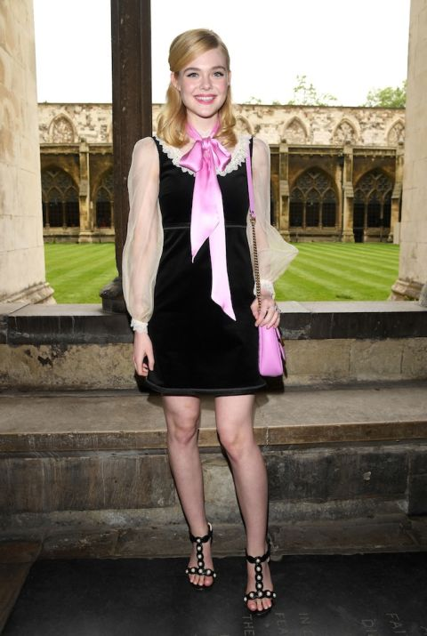 Nữ tính trong thiết kế của Gucci tại London