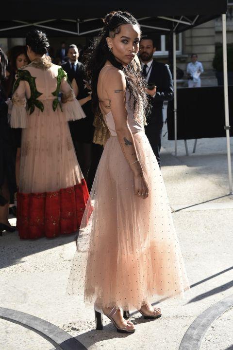 Thời thượng tại show diễn của Alexander Wang trong khuôn khổ Tuần lễ thời trang New York.