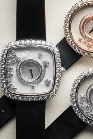 Happy Diamonds, tôn vinh chiếc đồng hồ thần tượng