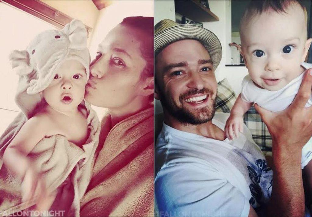Justin Timberlake và Jessica Biel hạnh phúc cùng con trai