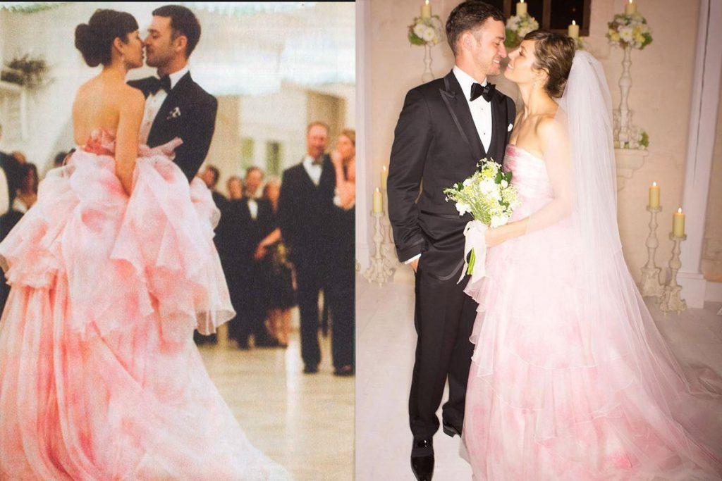 Đám cưới viên mãn của Jessica và Justin Timberlake
