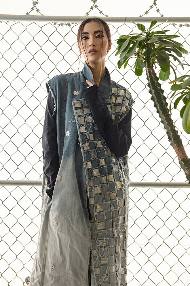 thời trang Tết Ferosh - elle vietnam