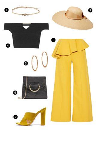 ELLE Style Calendar: Cách phối đồ với màu vàng (23/01 – 29/01)