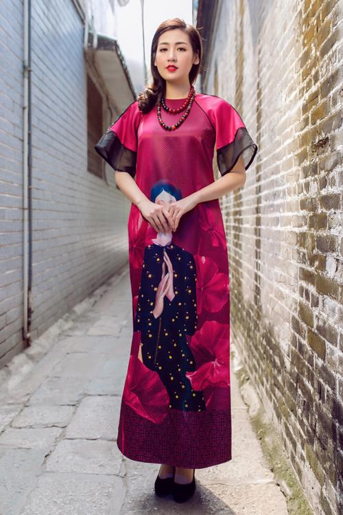 Áo dài của Adrian Anh Tuấn x Chinh - elle man 10