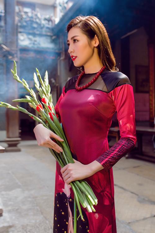 Áo dài của Adrian Anh Tuấn x Chinh - elle man 16