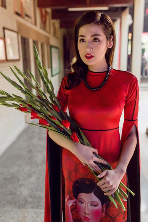 Áo dài của Adrian Anh Tuấn x Chinh - elle man 18