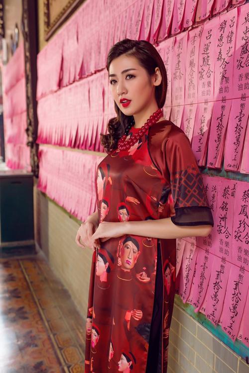 Áo dài của Adrian Anh Tuấn x Chinh - elle man 23