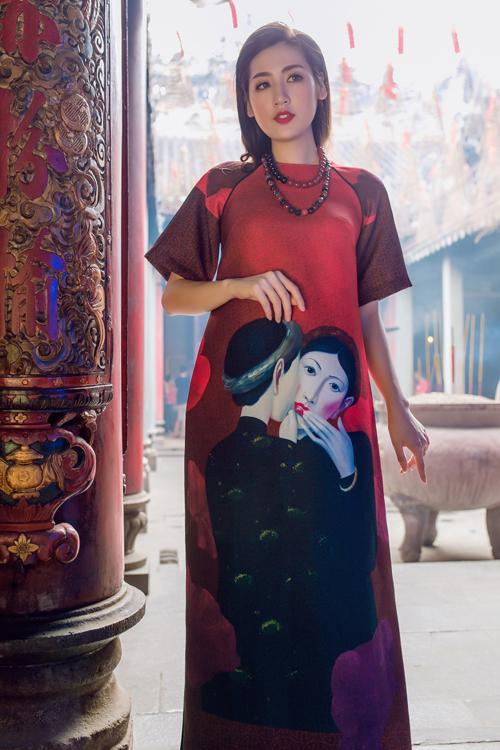 Áo dài của Adrian Anh Tuấn x Chinh - elle man 8