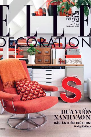 ELLE Decoration 11: Đưa vườn xanh vào nhà