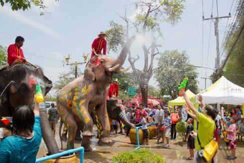 Tết cổ truyền ở Thái Lan 2