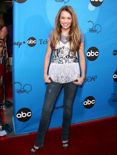 Hình ảnh Miley Cyrus năm 13 tuỏi